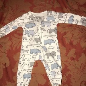 Newborn pj one piece